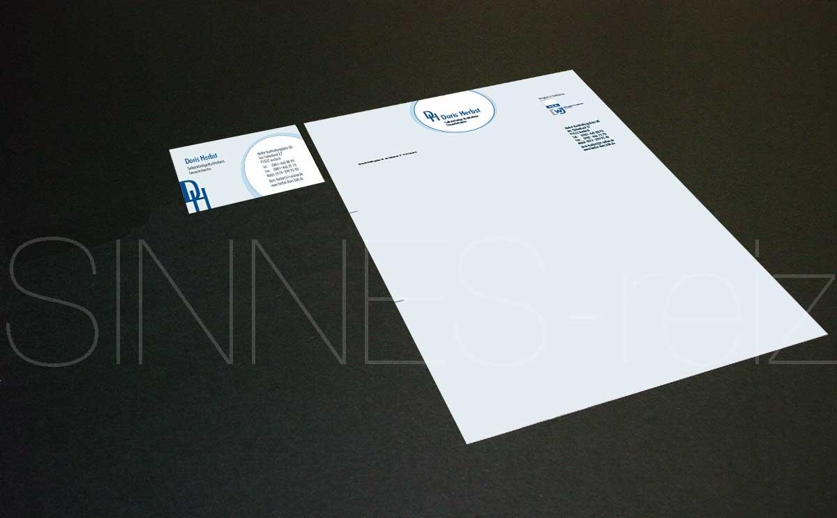 Corporate Design Logo Geschäftsausstattung Imagebroschüre